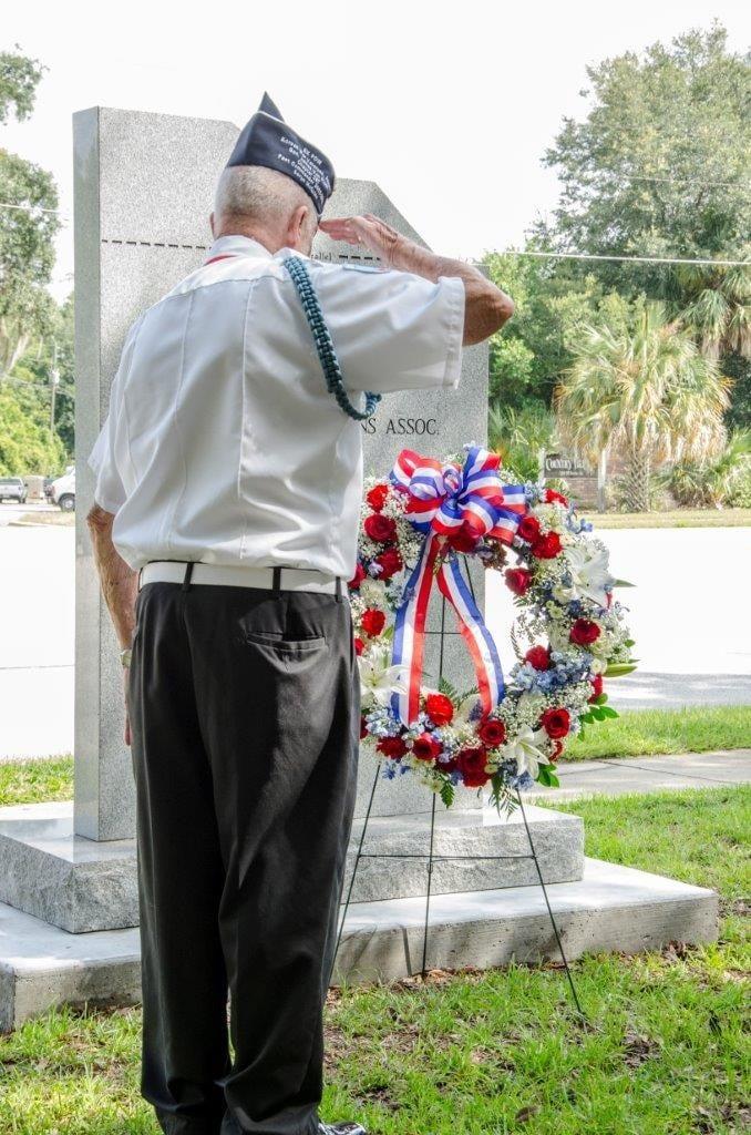 Korean War Memorial Laying of Wreath