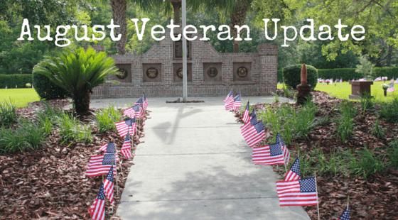August Veteran Update