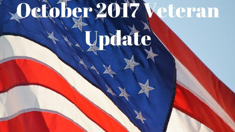 October 2017 Veteran Update